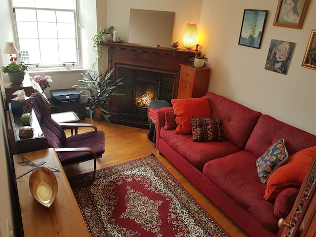 Bright & peaceful traditional City Centre flat