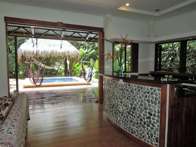 Casa Escondido-Private Jungle Hideaway - Rumah