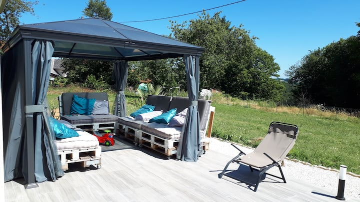 Bed & Breakfast maison neuve, proche Brive. PLN