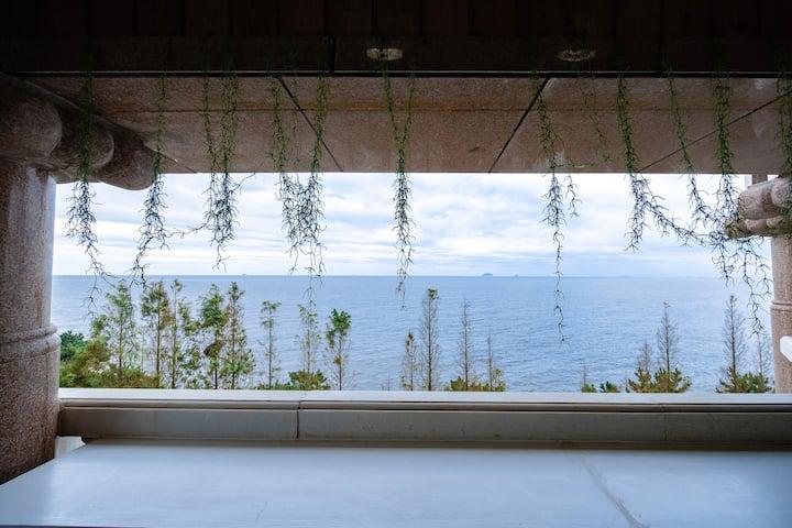 青岛·HighStone·海石居度假别墅B栋【全海景·四间客房·聚会团建首选】
