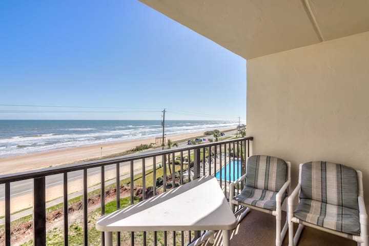 Ocean Watch Condo near Sea Breeze at Ormond by sea - Ormond Beach - Kondominium