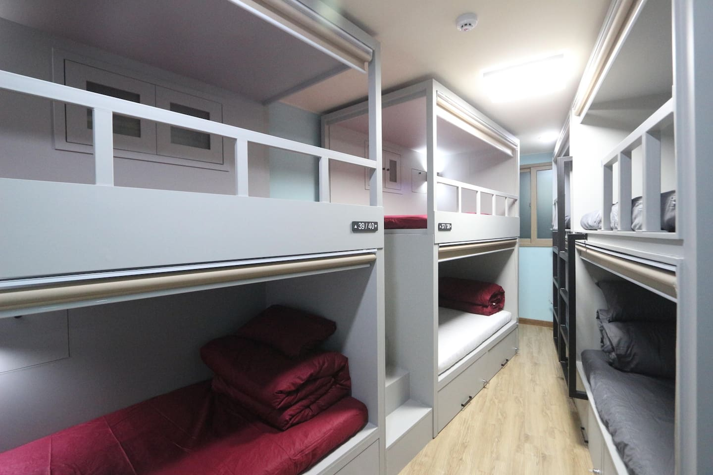 bunkbeds with latex mattress