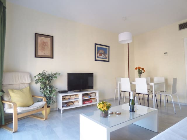 CENTRIC APARTAMENT, SUNNY AND COMFORTABLE.