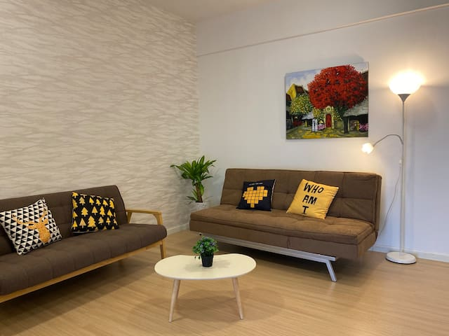 Seaview Luxury Studio @ Butterworth, Penang 眷戀海景暖屋