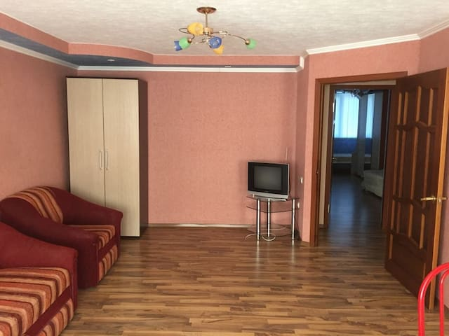 Квартира для семейного отдыха в центре города