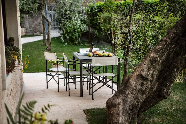 NiceFlat garden view +WiFi+Parking - Malcesine - Wohnung
