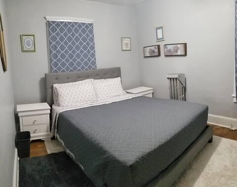 One bedroom plus shared bathroom