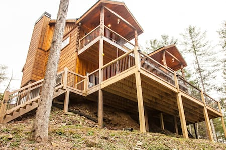 BRAND NEW LUX CABIN Fully paved rds - Blue Ridge