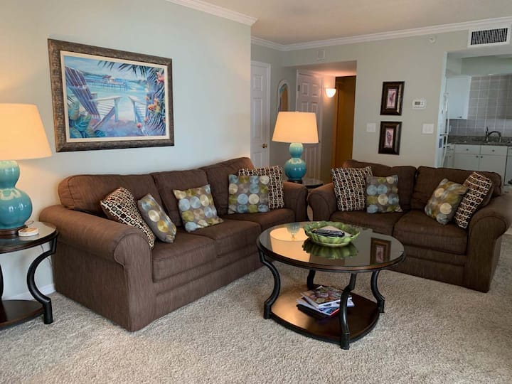 Brighton Towers 601-2BR/2BA Oceanfront Condo, ask about Monthly Rentals!
