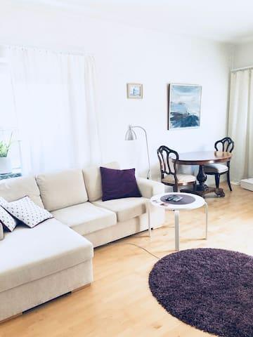 Spacious apartment close to nature