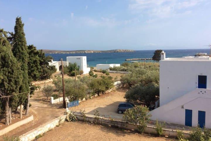 Traditional Apartment with Panoramic Sea View - Paros - Apartamento