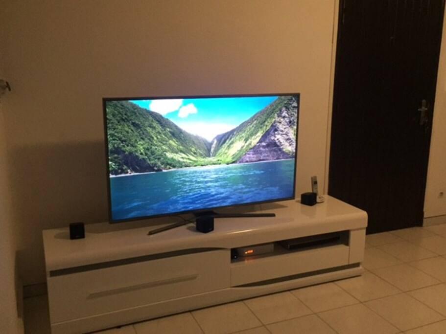 grand écran Tv + home cinéma 5.1