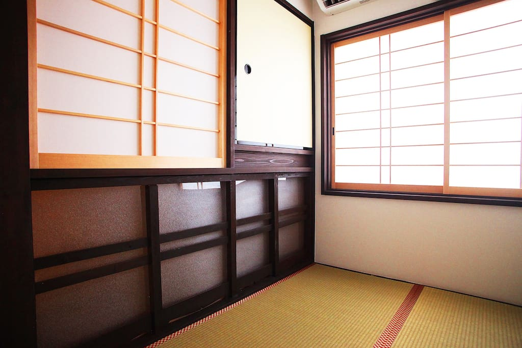 Japanese style room at 2F
