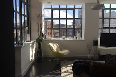 Bright, relaxing, modern NQ apt - 曼彻斯特