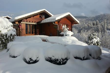 Charm and warmth in the heart of the Jura - Bellefontaine - Almhütte