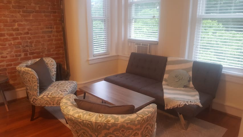 Beautiful, Sunny Studio in Vibrant Adams Morgan