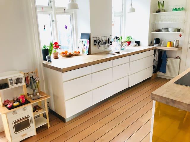 Kitchen and kids´kitchen :-)