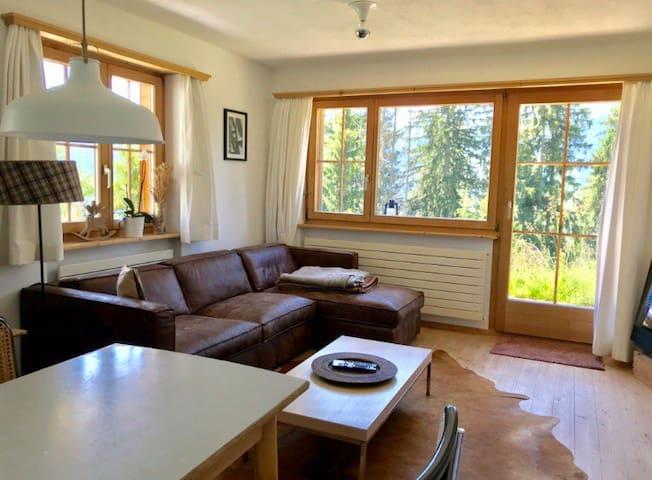 3 Zimmerwohnung mit Sitzplatz in Pany