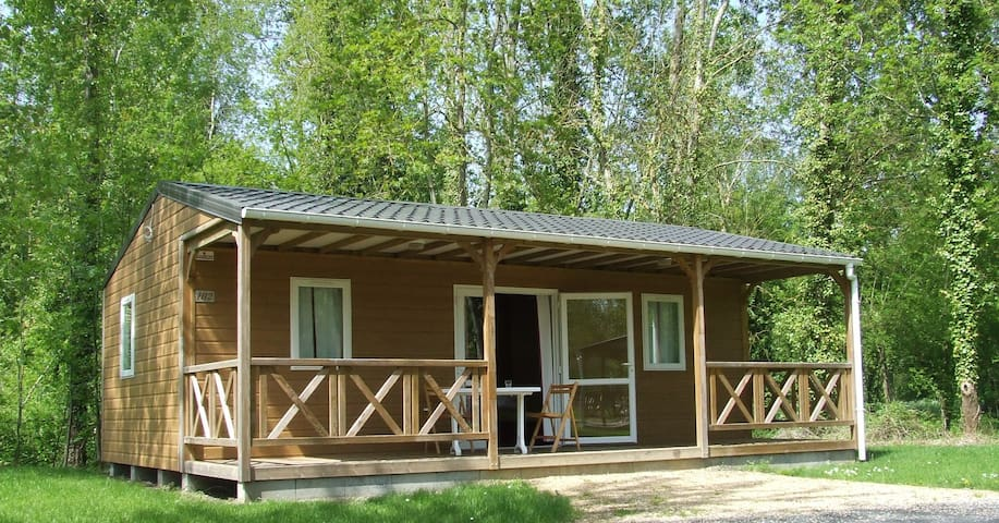 Chalet 6pers camping nature proche futuroscope