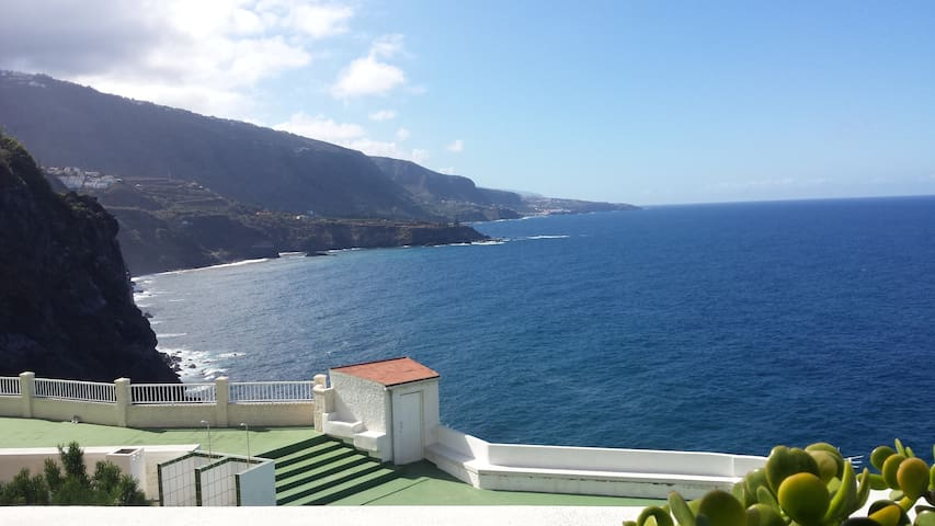 Atlantica, apt. with 1 bed room , living room, bad - Los Realejos - Byt