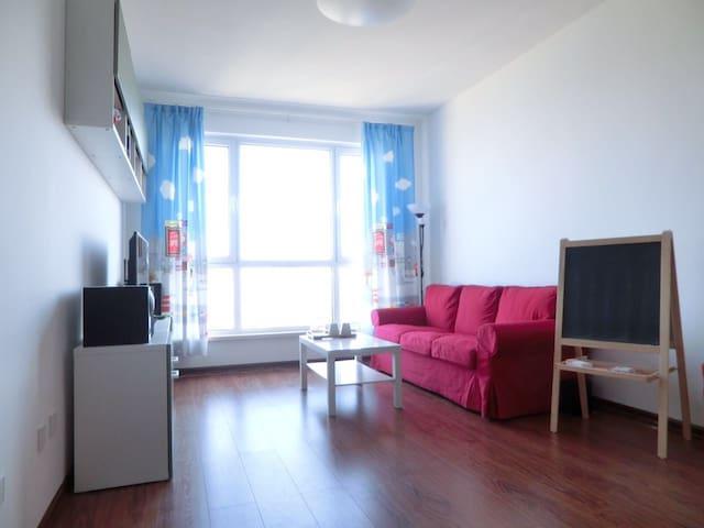 星海公园 迷人舒适的高层海景房 两居室 seaview personal apartmentent - Dalian - Wohnung