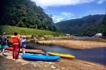 Kayaking/Canooeing
