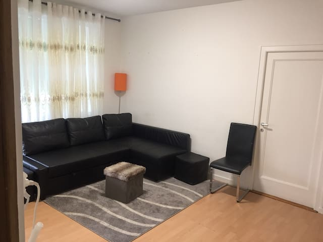 Nice room close to UN, Airport, & City Center.