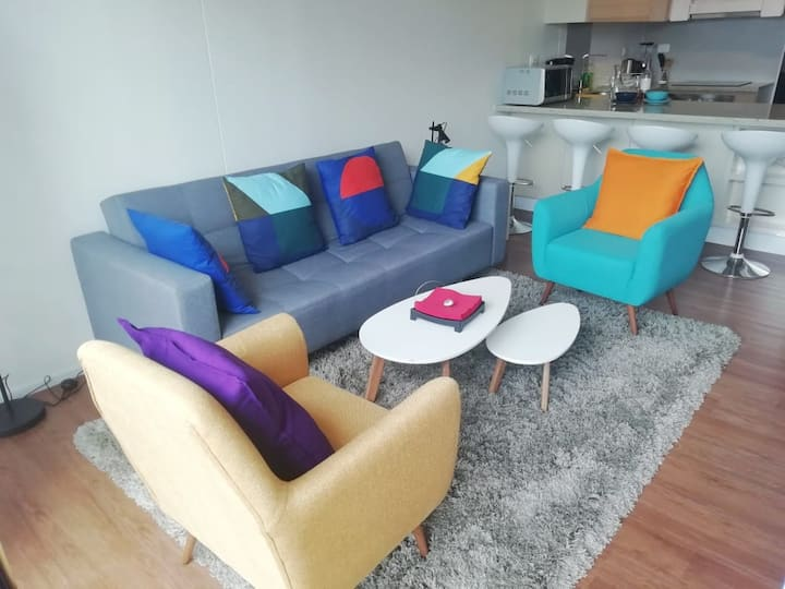 Superb 2 bed flat with Pool in the heart of Bogota