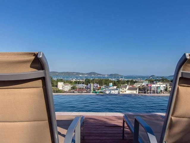 New Condo SeaView Rooftop Pool 04