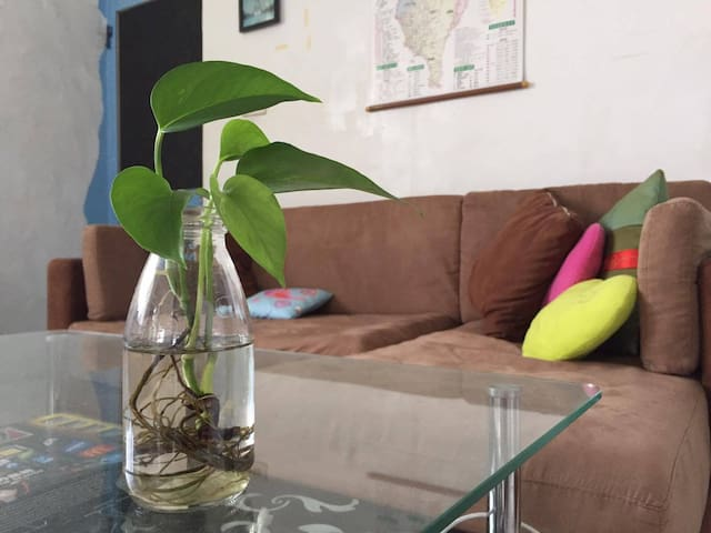 Guest house in Art street, Taichung 背包客空間 - Longjing District - Wohnung