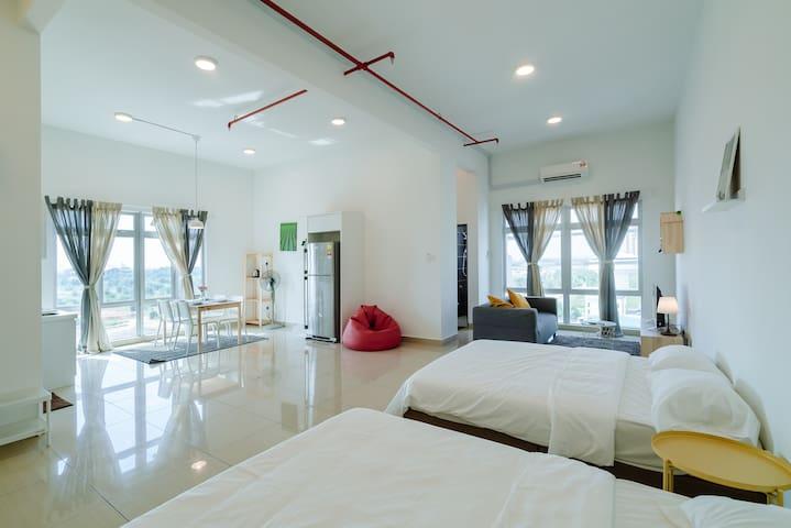 全新舒适便捷优质房源Homestay88@A,Menara Hartamas 1-6 Pax