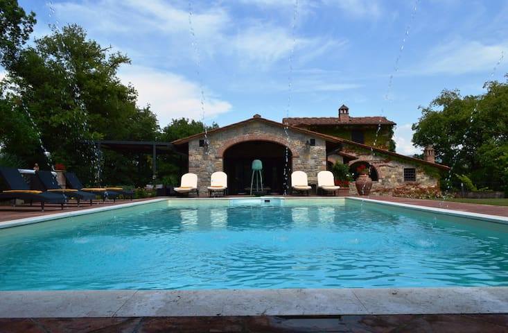luxury retreat in Gaiole in Chianti - Gaiole In Chianti - Byt
