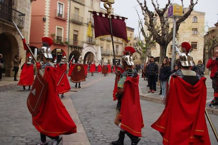 Easter Holidays in Medieval Town near Tarragona - Montblanc - Haus