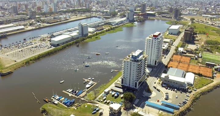 Excepcional dpto de lujo vista Río