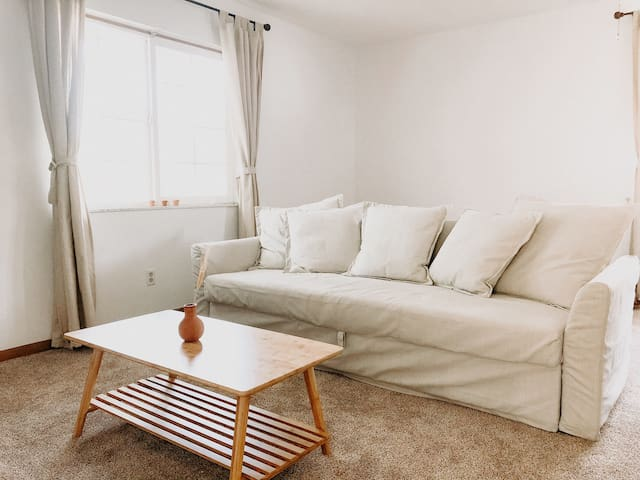 Cozy, clean home