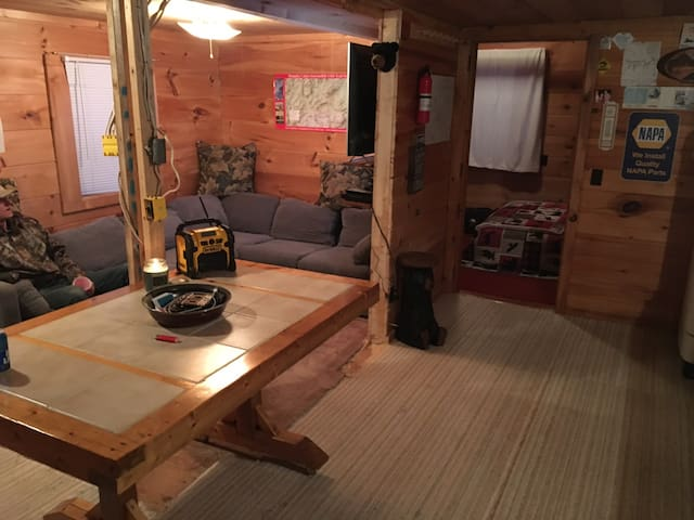 Cabin rental in Western Maine Mountains