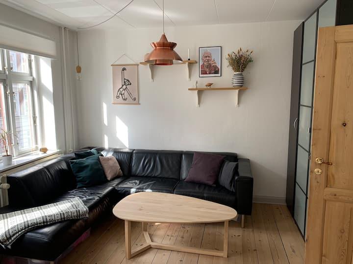 Perfekt beliggende 3 værelses lejlighed i Aarhus C