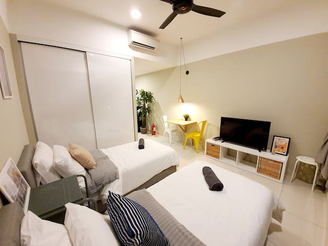 2-4Pax⭐Stylish Studio/Dsara Sentral