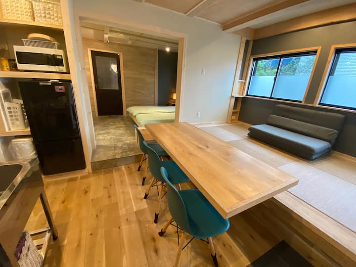 Designer 1 Bdrm in central Tokyo, 5min from subway