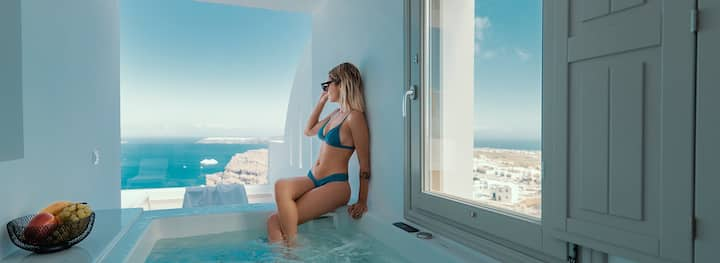 Genesis Suite |  Sea view & outdoor hot tub