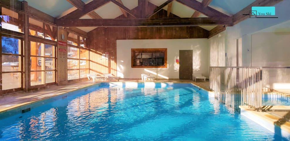 Appartement résidence avec piscine 8 pers.