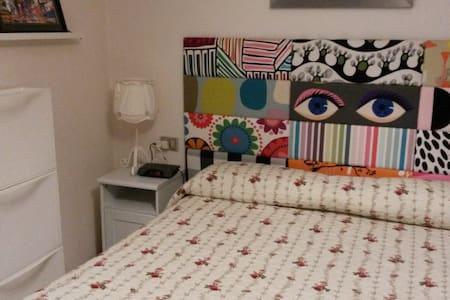 Habitacion doble en atico con terraza - Castro Urdiales - Appartement
