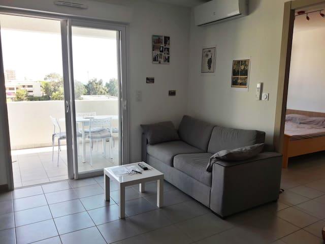 Beau 2 pièces pour 4 personnes de 45 m² à Bastia