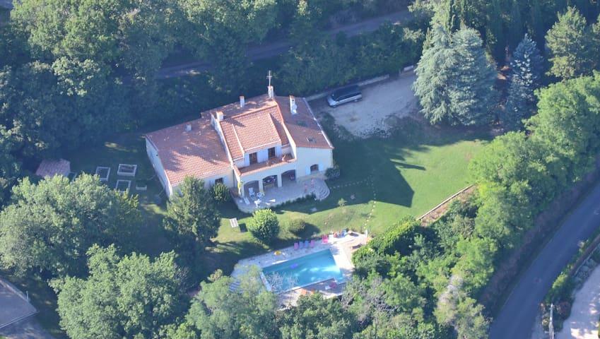 Villa Piscine Drôme Provençale - Savasse