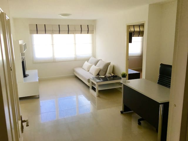 New & Peaceful 50sqm 1 bedroom at BTS Thonglor - Bangkok - Wohnung
