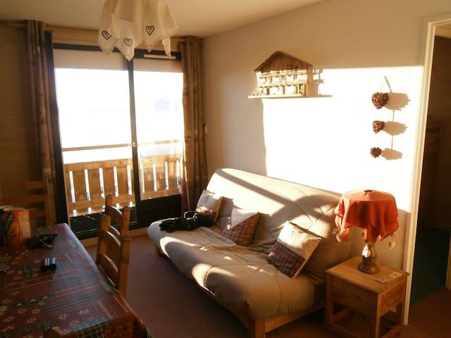 Appart Prapoutel 7 Laux ski-montagne balcon sud