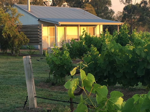 Stay on quiet Hunter Valley boutique vineyard #1