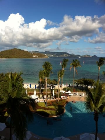 St. Thomas Ritz Carlton Luxury Resort Beach Condo