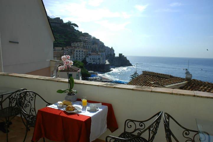 Hotel Croce di Amalfi - Camera singola in centro