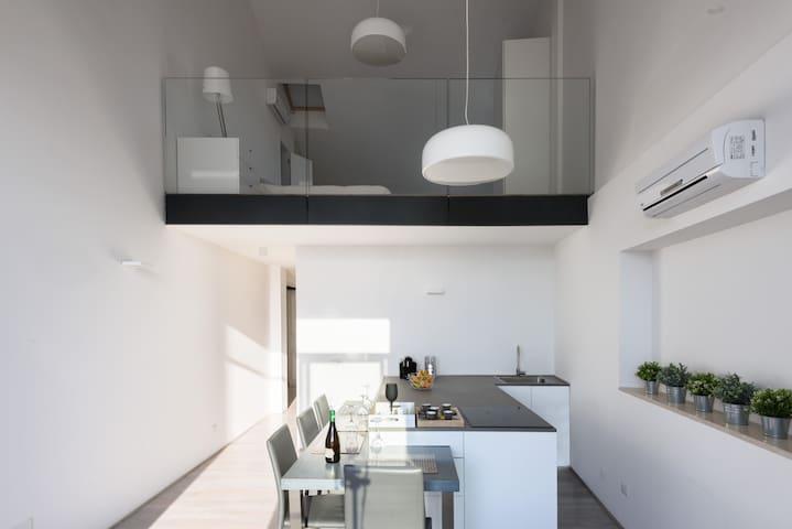 Loft Moderno Dubbel con Birrificio a Montepulciano